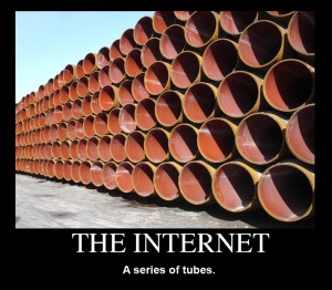The-internet-a-series-of-tubes